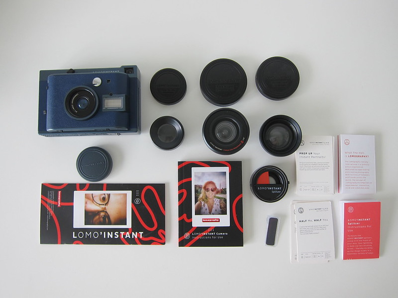 Lomo'Instant - Box Contents