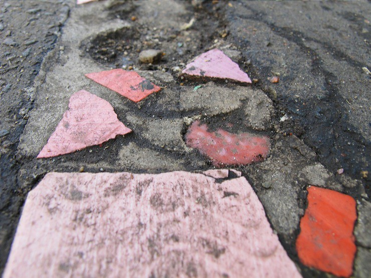 Mosaique street repair
