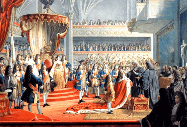 Coronation of Frederick I, the first King in Prussia, in Königsberg Castle