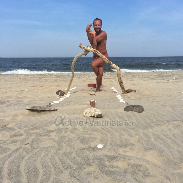 naturist 0015 Sandy Hook, NJ, USA