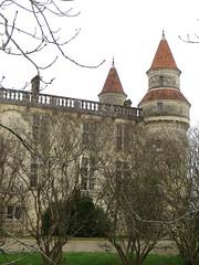 Château de Grignols (XVe, XVIe, XIXe), Grignols, Landes de Gascogne, Gironde, Aquitaine, France. - Photo of Marions