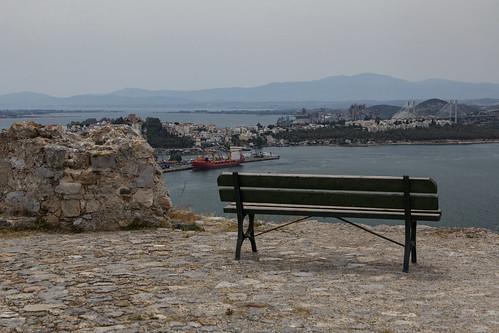 view greece 2016 chalkida centralgreece karababacastle