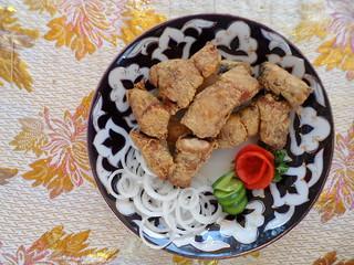 Carp Fish, Malika Restaurant