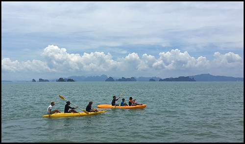 Kayaking at Koh Yao Yai island