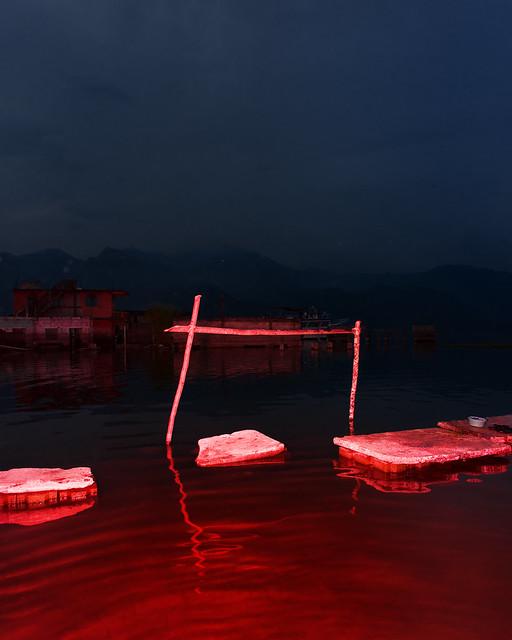 Washing cloth station , San Pedro, Lago Atitlan, Guatemala
