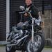 Harley Davidson and owner
