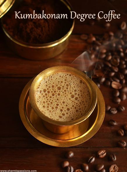 Kumbakonam Degree Coffee Recipe