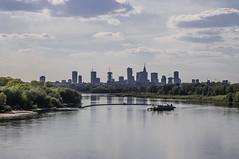 A view from Świętokrzyski bridge