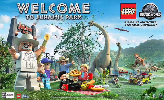 LEGO Jurassic Wold Video Game