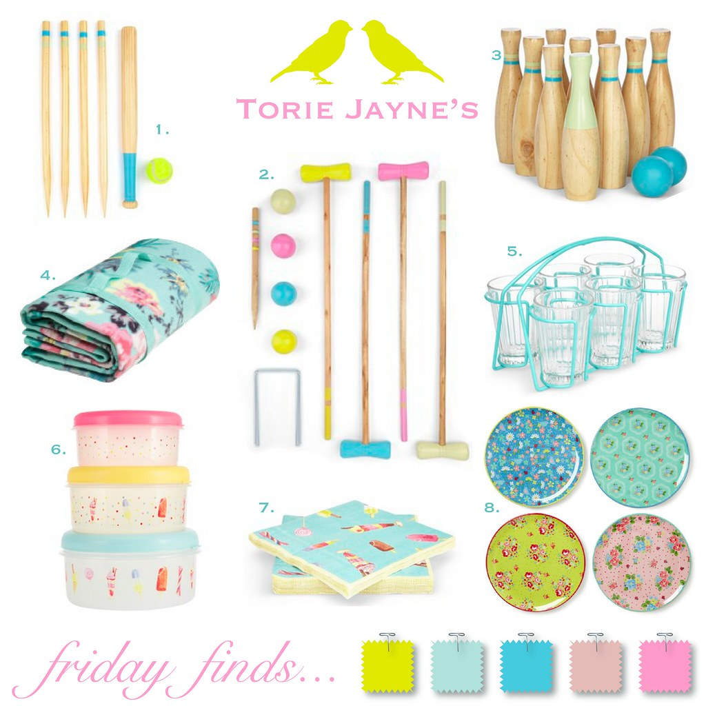 Friday Finds...Garden party