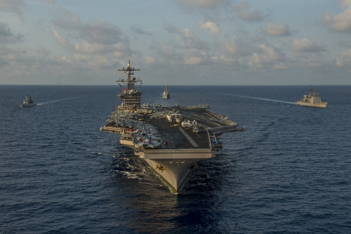 Carl Vinson Strike Group Conducts Exercises With Royal Malaysian Military