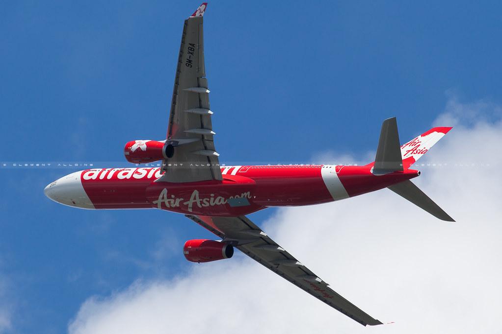 9M-XBA - A333 - AirAsia X