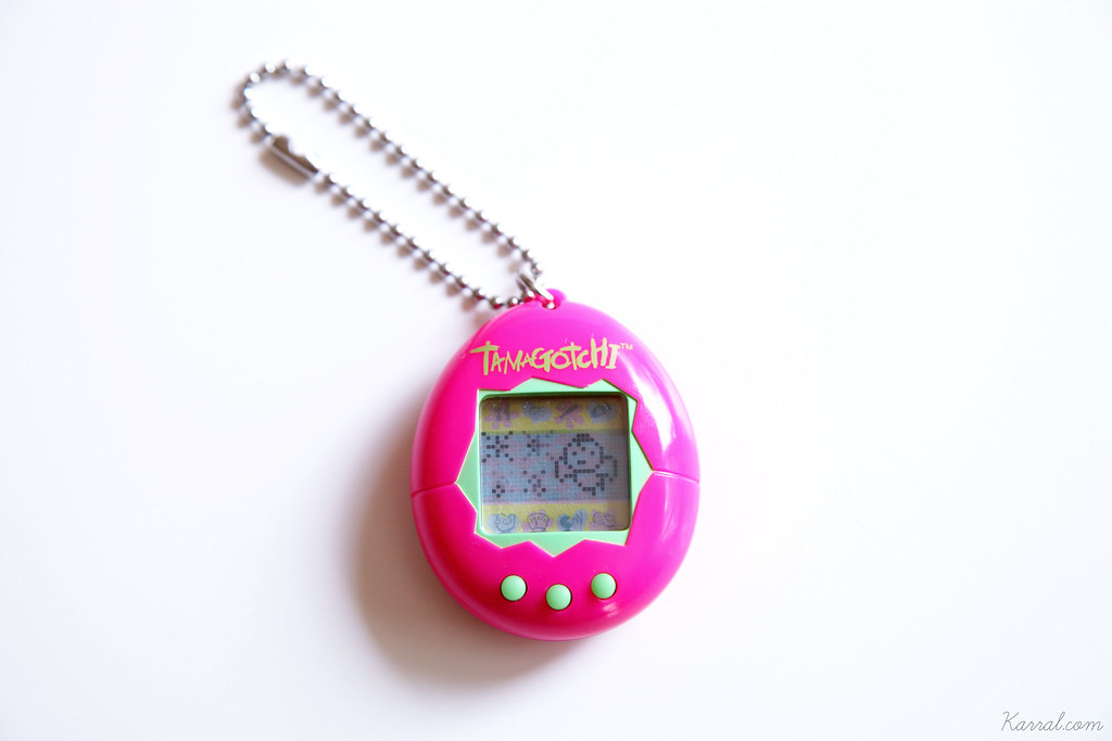 tamagotchi P1 first version European english dead death angel