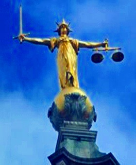 Justice, The Old Bailey, London