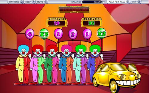 free Captain Cannon's Circus of Cash bonus game