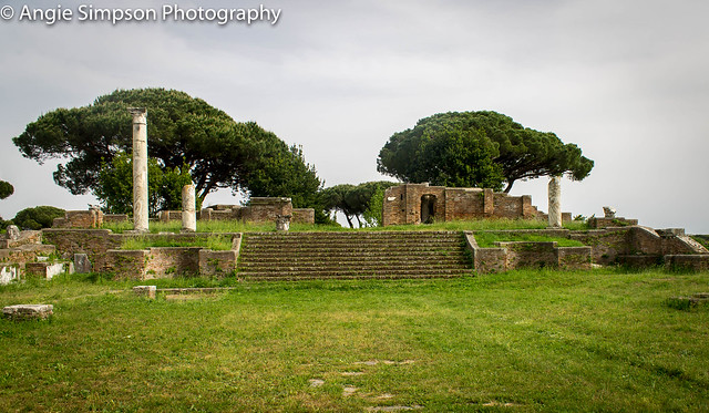 ostia antica stairs (1 of 1)
