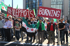 Aleppo is burning... place Schuman 9