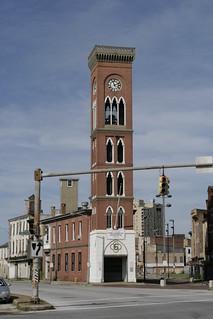 The Baltimore City Fire Museum, exterior