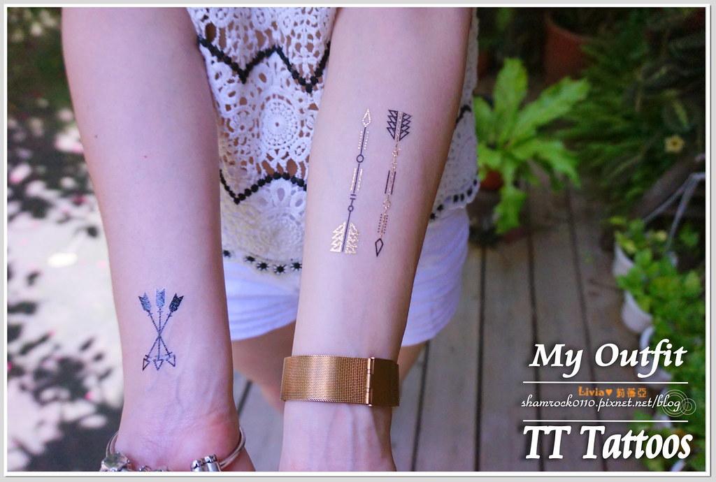 TT Tattoos金屬紋身貼 - 35