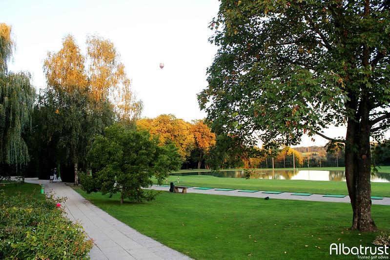 photo du golf Golf de la Grange aux Ormes - Practice - Putting green