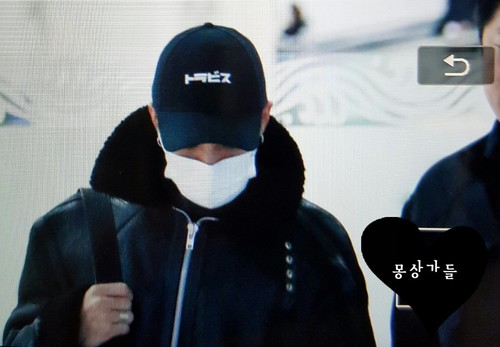 BIGBANG (wout Seungri) arrival Seoul Gimpo from Beijing 2016-01-02 (23)
