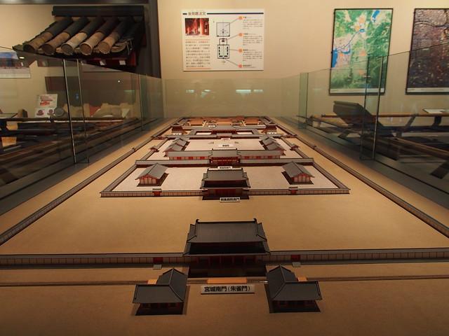 古早時候的難波京的宮殿