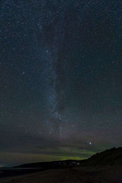 morning stars and the aurora