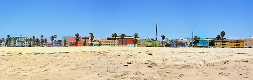 ocean california homes panorama beach buildings sand apartments panoramic palmtrees venicebeach businesses joelach