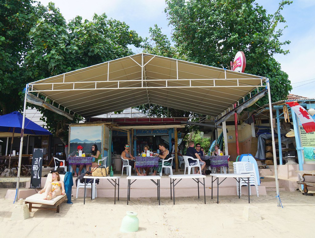 Jimbaran beach - breakfast white sand beach house-002