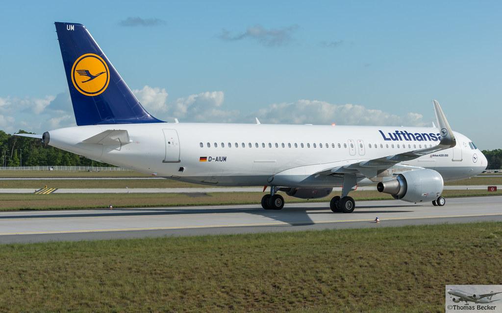 D-AIUM - A320 - Lufthansa