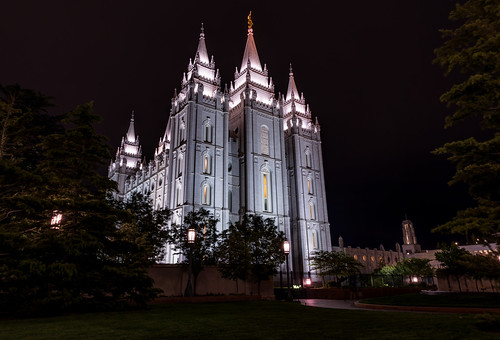 Salt Lake Temple by Geoff Livingston