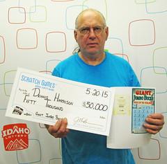 Dennis Harrison - $50,000 Giant Jumbo Bucks