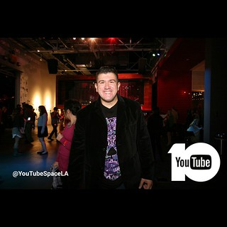 YouTube Space Studio LA 10th Anniversary Party in Los Angeles