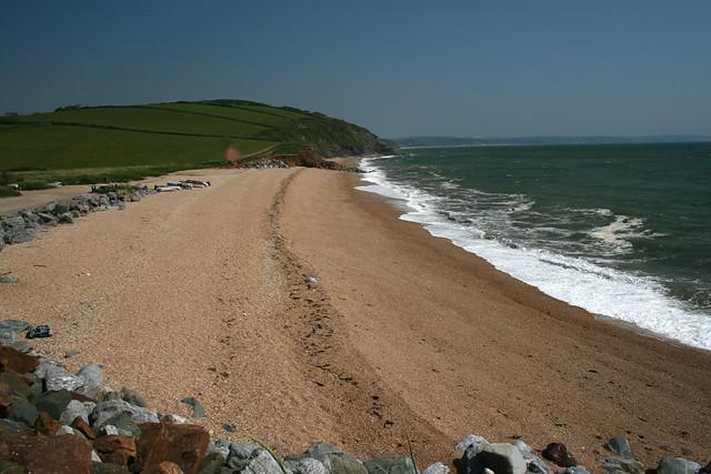 Hallsands beach