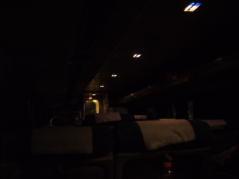 Amtrak's Empire Builder at 02:15: It was not easy boarding a train when half-dead.