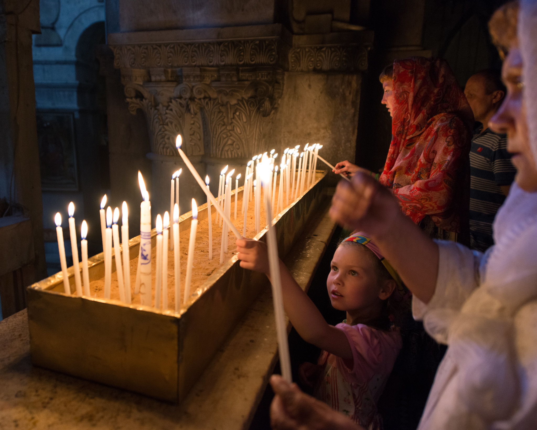 Holy Sepulchre Candles