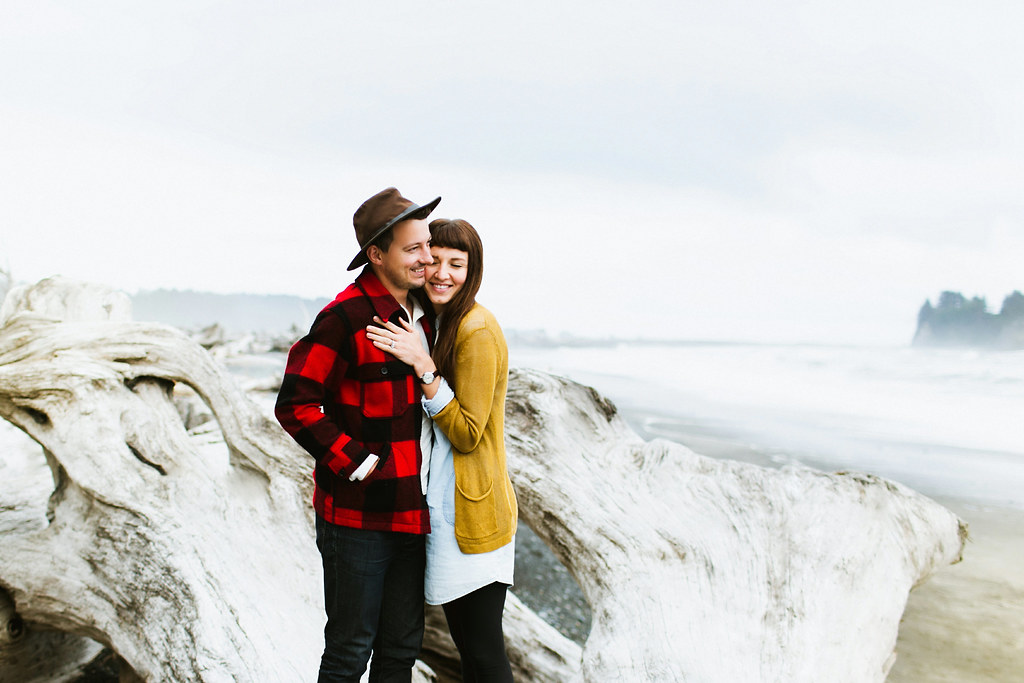 Rialto Beach Couple Session