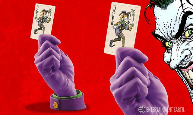 Cryptozoic Entertainment - 1/1 複製品 DC 漫畫角色之手#1 小丑 The Joker