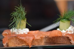 Danish Open Faced Sandwich