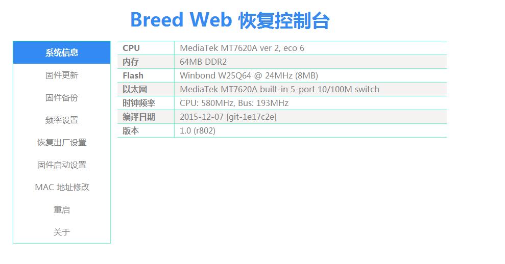 breed web
