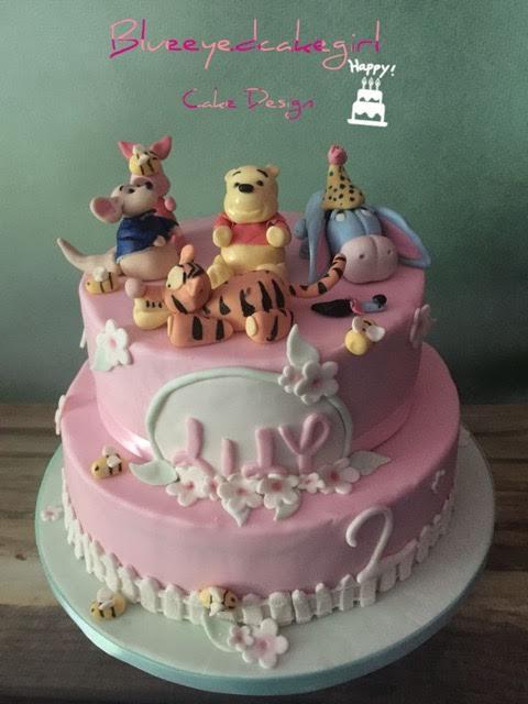 Winnie the Pooh Cake by Leantine Le Blanc