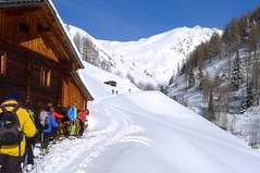 Genussreiche Skitourentage in OsttirolUrsprüngliches VillgratentalJuwel Gannerhof in Innervillgraten. Foto: Günther Härter.