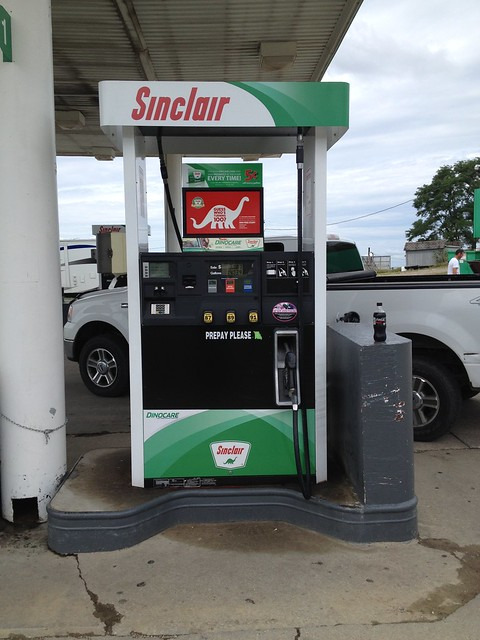 Sinclair Fuel Pump