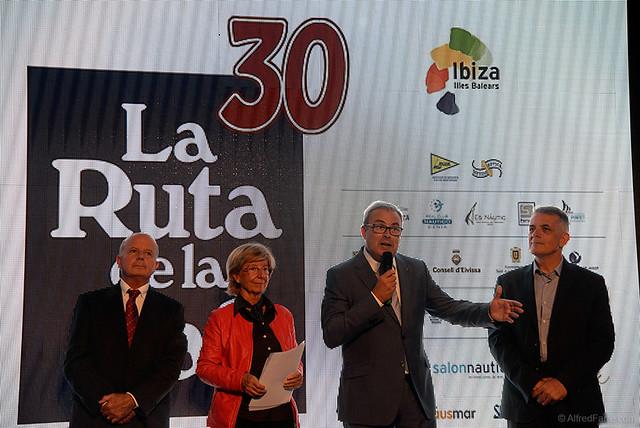 EL 30 ANIVERSARIO DE LA RUTA DE LA SAL PRESENTADA EN EL SALON NÁUTICO INTERNACIONAL DE BARCELONA 2016