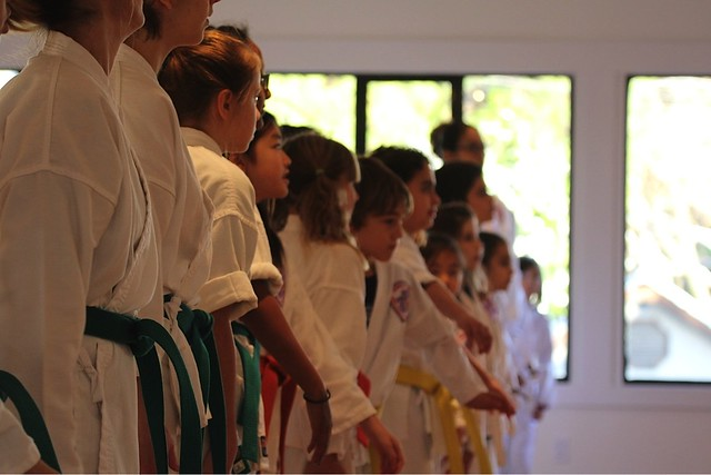 Belt Changing Ceremony