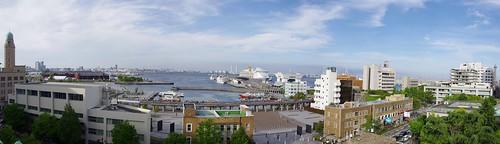 神奈川県庁本庁舎からの眺め