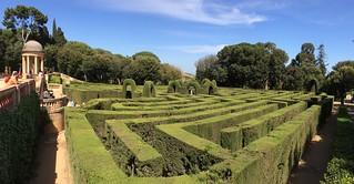 Bilde av Parc del Laberint d'Horta. barcelona park spain maze hedgemaze
