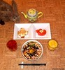 Seara (sea rabbit).  Photograph by Dr. Takeshi Yamada. 20120404 072 JapaRamenwRaw Egg, Mush, Bean Sprouts, Baby Corns & Nori.Sliced Tofu.T.OJBT