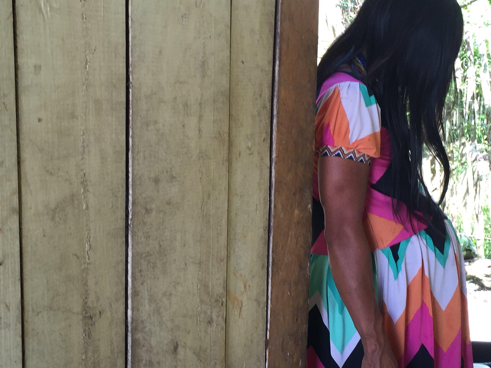 Una familia indígena se hospeda en el hogar materno del Hospital San Lorenzo