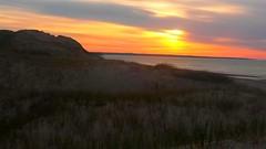 Sunset over the dunes #pei #sunset #dunes